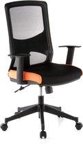 hjh office Lavita  - Bureaustoel - Zwart / oranje
