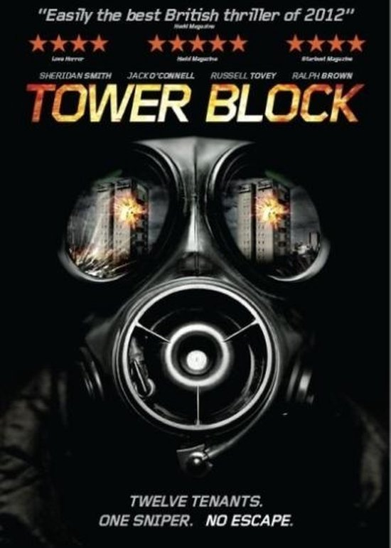 Cover van de film 'Tower Block'