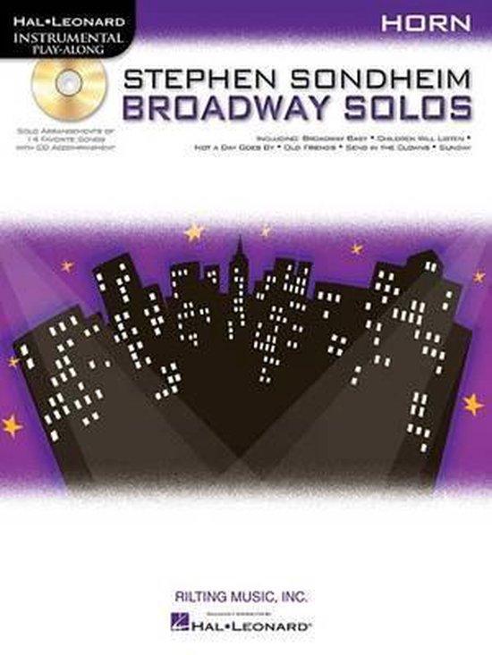 Stephen Sondheim Broadway Solos - Horn in F