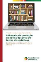 Influencia da producao cientifica docente em textos dissertativos