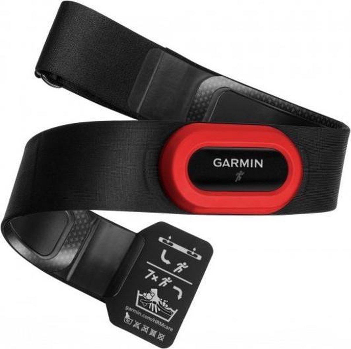 Garmin HRM Run hartslag monitor Borst. Zwart, Rood