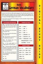 German Vocabulary (Blokehead Easy Study Guide)