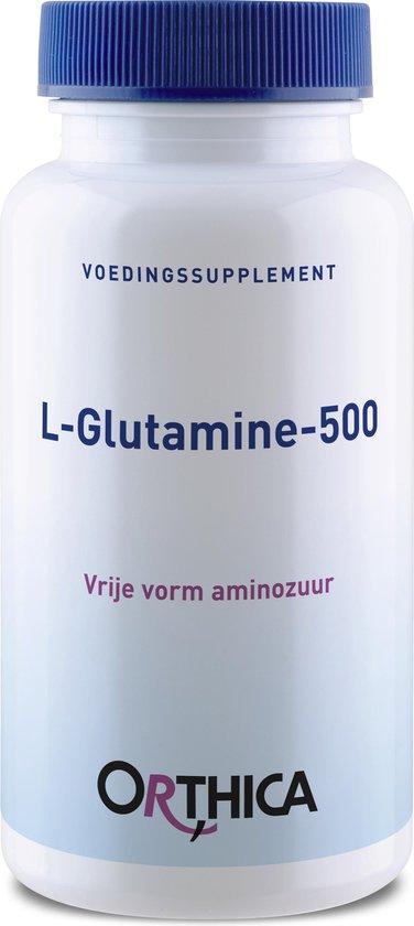 Orthica L Glutamine 500 Voedingssuplement - 60 Capsules