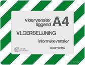 Vloervensters A4 (Groen-Wit)