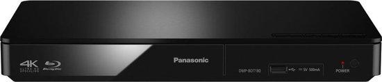 Panasonic DMP-BDT181EF - Blu-ray speler - 3D - Zilver