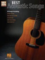 Afbeelding van Best Acoustic Songs for Easy Guitar (Songbook)