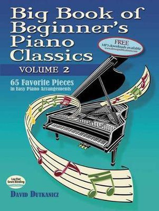 Boek cover Big Book of Beginners Piano Classics van David Dutkanicz (Paperback)