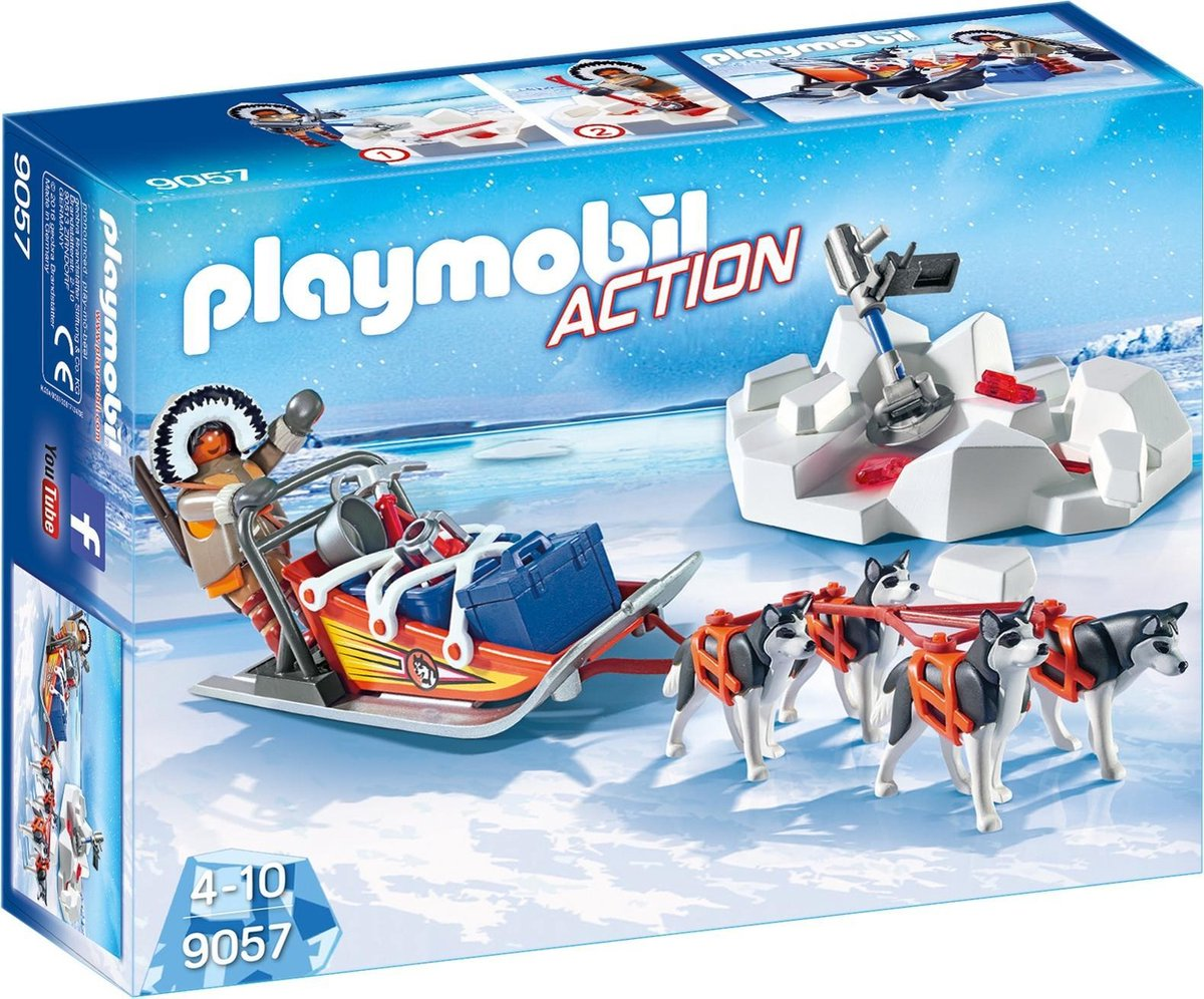 Playmobil Action: Poolreizigers Met Hondenslee (9057)