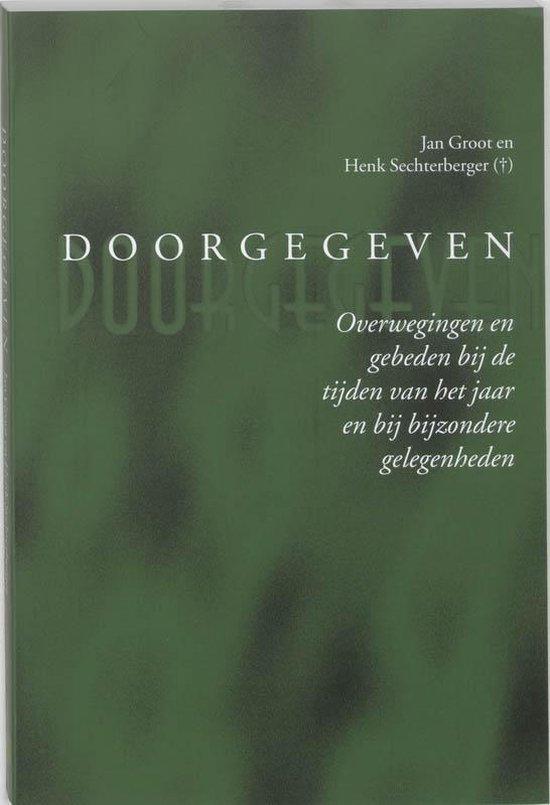 Doorgegeven - Jan Groot  