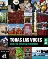 Todas las voces (A1/A2). Lehrbuch + Audio-CD + DVD