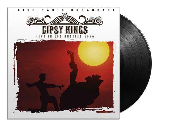 CD cover van Best Of Live In Los Angeles 1990 (LP) van Gipsy Kings