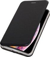 Bestcases Hoesje Slim Folio Telefoonhoesje iPhone XS Max - Zwart