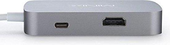 MINIX NEO V2 USB-C HDMI adapter Space Gray - MINIX NEO MINIX.NL