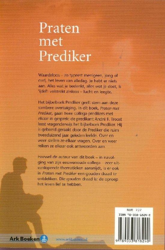   Praten Met Prediker, A.F. Troost   9789033818240