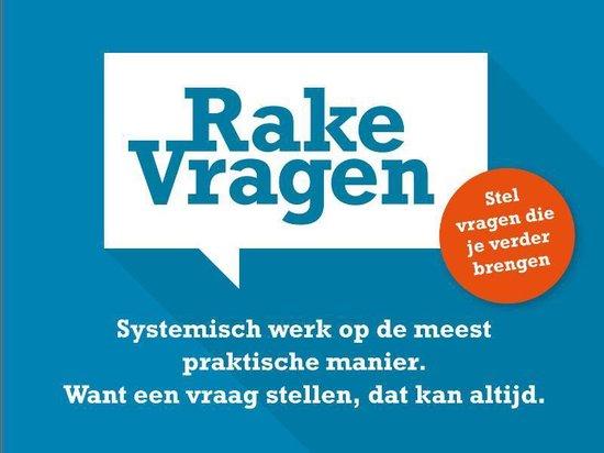 Boek cover Rake vragen van Siets Bakker (Onbekend)