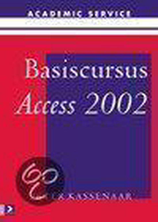 Cover van het boek 'Basiscursus Access 2002'