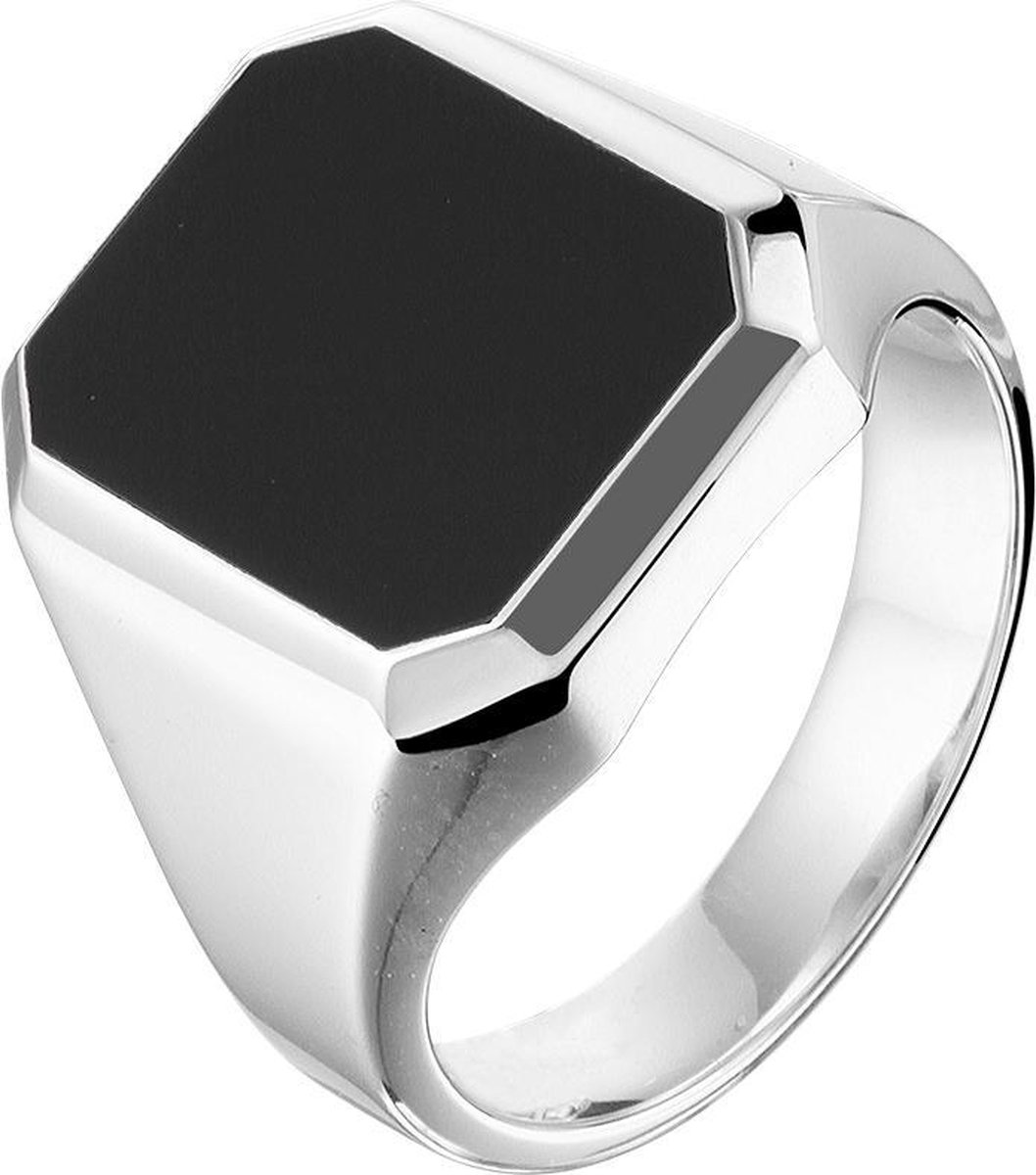 Vigor Zegelring Onyx - Zilver - The Jewelry Collection For Men