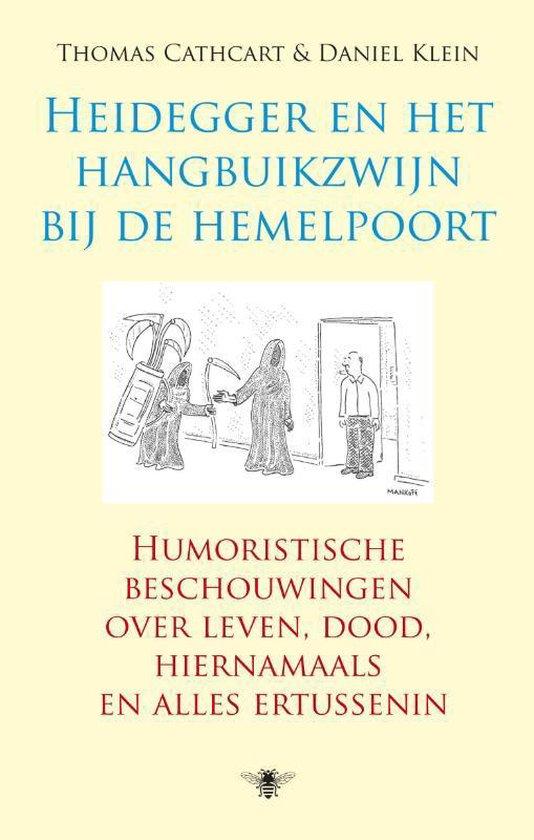 Boek cover Heidegger en het hangbuikzwijn van Thomas Cathcart (Hardcover)