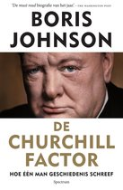 Boek cover De Churchill factor van Boris Johnson (Paperback)