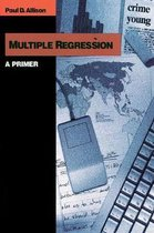 Boek cover Multiple Regression van Paul D. Allison (Paperback)