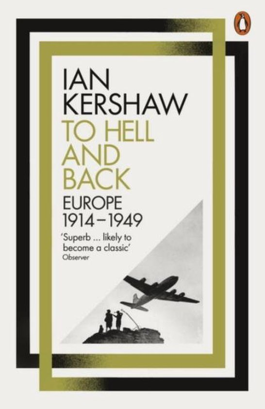 Boek cover To Hell and Back: Europe, 1914-1949 van Ian Kershaw (Onbekend)