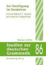 Zur Satzfügung im Deutschen