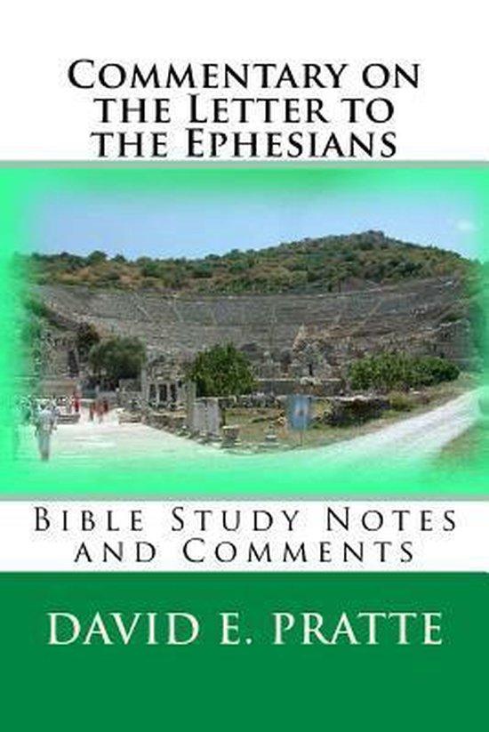 Boek cover Commentary on the Letter to the Ephesians van David E Pratte (Paperback)