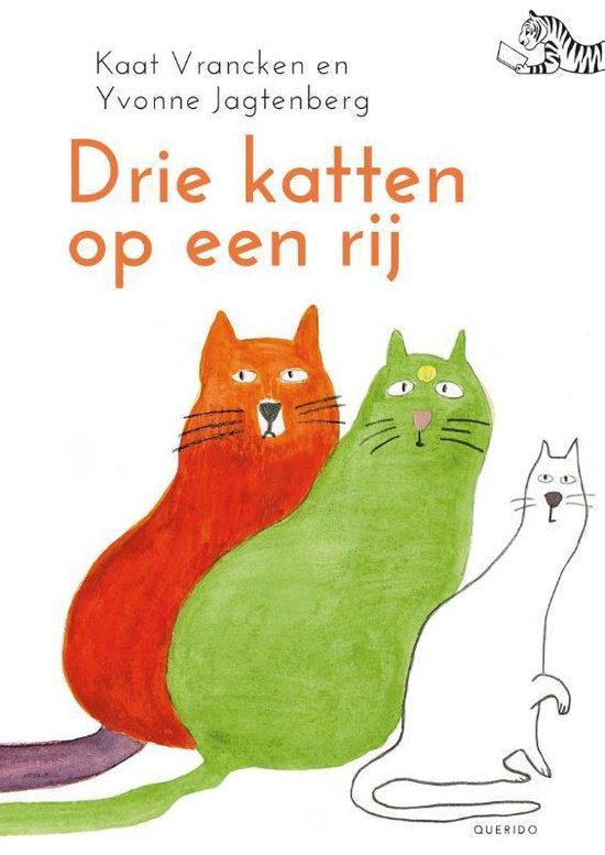Tijgerlezen - Drie katten op een rij - Kaat Vrancken |