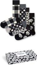 Happy Socks Black & white giftbox - Maat 36-40
