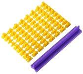 Koekjestempel Set - Alfabet / Letters & Cijfers Stempels / Stempelset Voor Koekjes