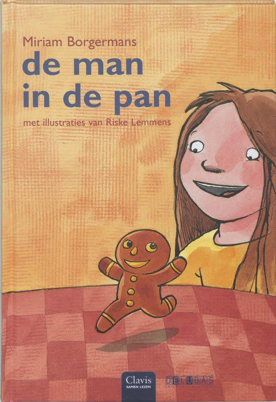 Cover van het boek 'De man in de pan' van Miriam Borgermans
