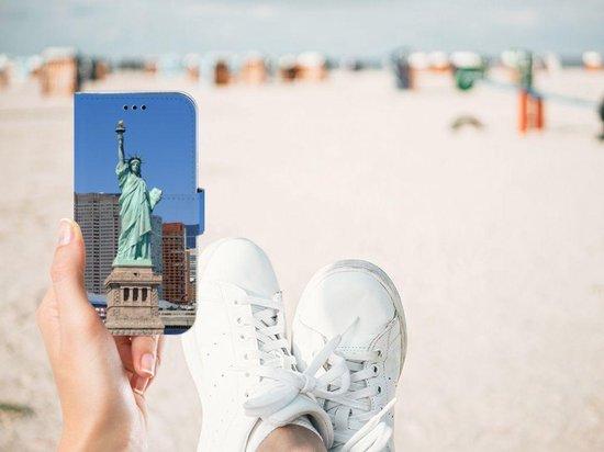 Samsung Galaxy J3 2017 Uniek Telefoonhoesje Met New York Print