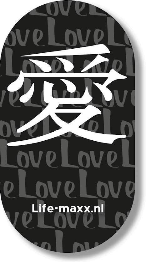 "Life-Maxx anti straling sticker ""love"""