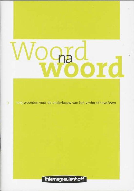 Woord na woord - J.H.J van de Pol   Fthsonline.com