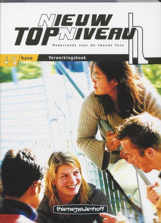 Nieuw Topniveau / 4-5 Havo / Deel Verwerkingsboek - H. Jongsma  