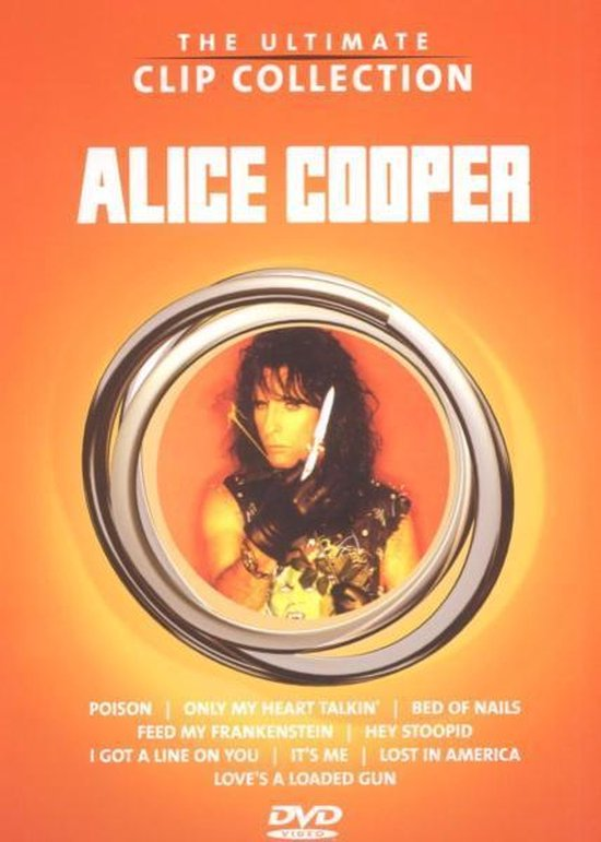Cover van de film 'Alice Cooper - Ultimate Clip Collection'