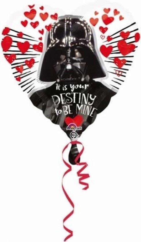 Star Wars hartjes folie ballon 43cm
