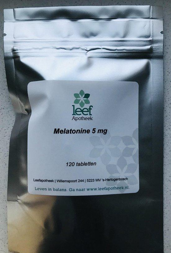 Melatonine 5mg Leefapotheek 120 stuks (nog verkrijgbaar t/m 30 juni!)
