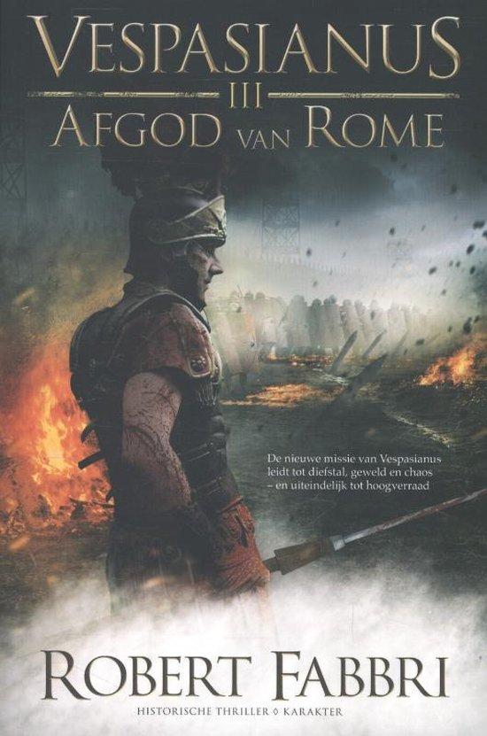Boek cover Vespasianus - Afgod van Rome van Robert Fabbri (Paperback)