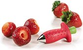 Leuke aardbeien ontkroner