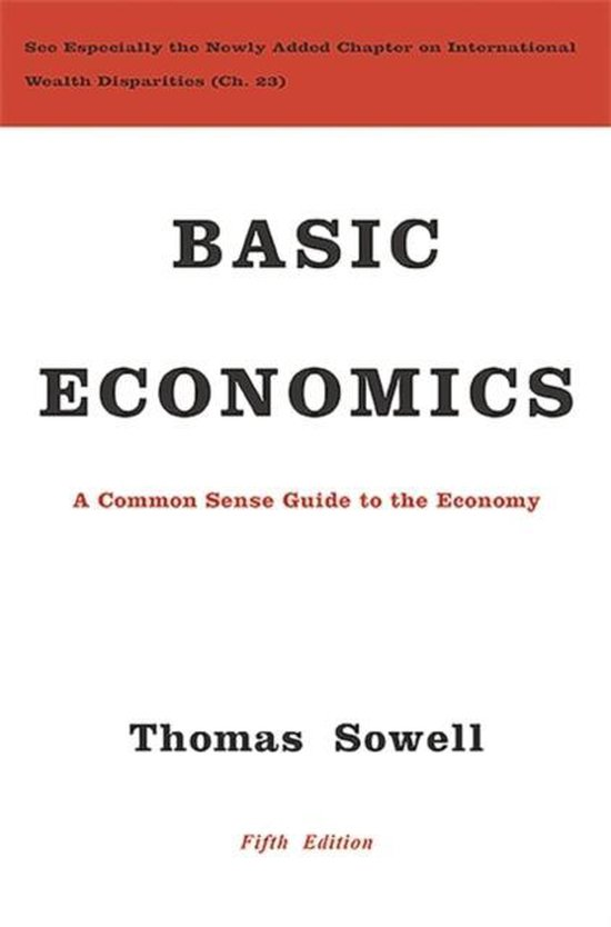 Boek cover Basic Economics van Thomas Sowell (Hardcover)