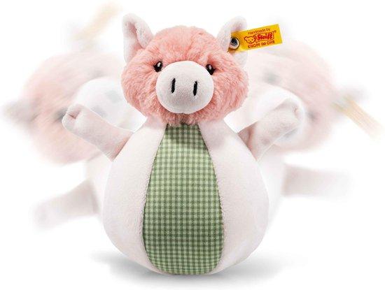 Thumbnail van een extra afbeelding van het spel Steiff Happy Farm Piggilee muziek sta op varken 19 cm. EAN 240966