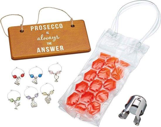 BarCraft - Prosecco Gift Set (9-Delig) - Alles behalve de Fles