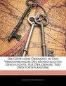Die Gottliche Ordnung in Den Veranderungen Des Menschlichen Geschlechts, Aus Der Geburt, Tod Und Fortpflanzung