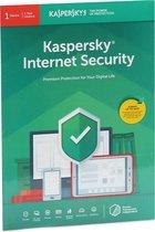 Kaspersky Internet Security (Flatpack) 2020 1PC,1Year Multilingual (Englisch/Deutsch)