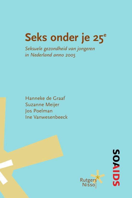 Cover van het boek 'Seks onder je 25e'
