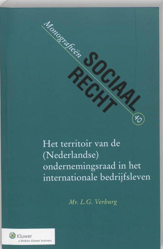 Het territoir van de (Nederlandse) ondernemingsraad in het internationale - none | Fthsonline.com