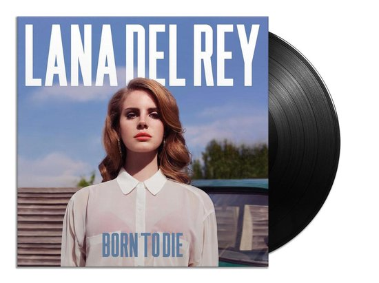 CD cover van Born To Die (LP) van Lana Del Rey