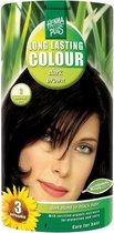 Hennaplus Long Lasting Colours 3 Dark Brown - Haarverf