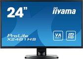 iiyama ProLite X2481HS-B1 LED display 59,9 cm (23.6'') 1920 x 1080 Pixels Full HD Zwart